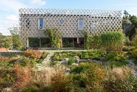 Summer House In Garden - architect visit garden house in sweden by tham u0026 videgard