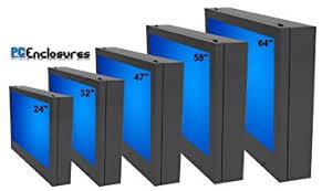 outdoor tv cabinet enclosure lcd tv enclosure outdoor plasma tv cabinet for 47 amazon ca