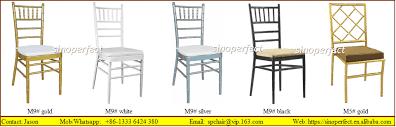 Chiavari Chair Company Foshan Sinoperfect Furniture Co Limited Hotel Chair Wedding Chair