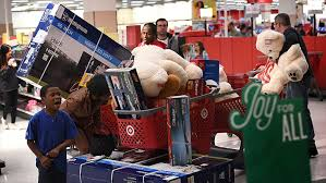 target black friday sales revenue black friday 2016 more shoppers less spending nov 27 2016