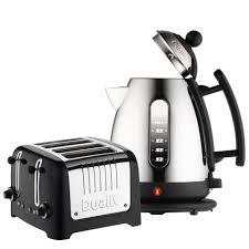 Dualit 4 Toaster Dualit Jug Kettle And 4 Slot Toaster Bundle Black Homeware