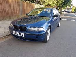 occasion bmw 316i e46 manual petrol 2004 blue 850 mot 27 7 17
