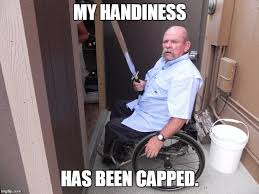Wheelchair Meme - handi capped imgflip
