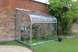 Greenhouse 6x8 Hallsline 6x8 Lean To Greenhouse Horticultural