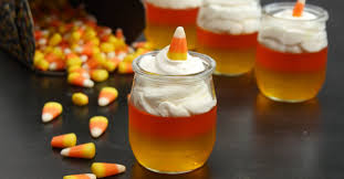 get excited for fall with these cute little candy corn desserts