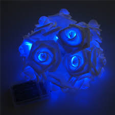 Novelty String Lights by 8 Color Night Light 20 X Led Novelty Rose Flower Fairy String