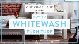 one kings lane weekend decorator how to whitewash furniture
