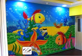 Wall Painting Images Play Artwork Wall Painting Mumbai