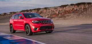 red jeep cherokee 2018 jeep grand cherokee performance luxury suv