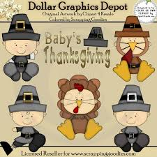 baby s thanksgiving clip 1 00 dollar graphics