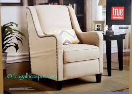 Fabric Accent Chair Costco Sale True Innovations Fabric Accent Chair 159 99 Frugal