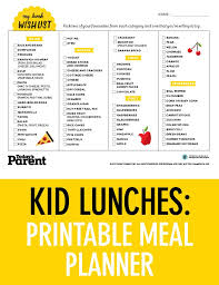 lunch box planner template 29 images of school lunch and dinner menu template crazybiker net
