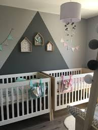 chambre bebe jumeaux awesome idee chambre bebe jumeaux ideas design trends 2017