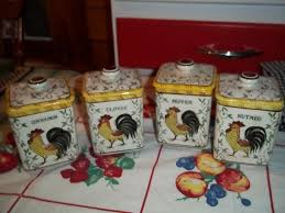 9 best rooster canisters images on pinterest kitchen canisters