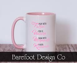 fairies mermaids and rainbows mug rainbow coffee