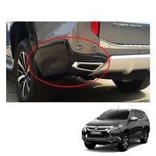 mitsubishi vietnam for mitsubishi pajero montero sport rear bumper black exhaust tip