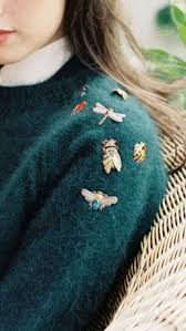 brooches fall winter style brooches clothes and
