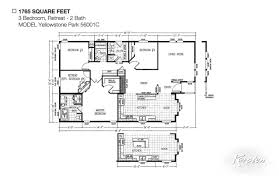 Karsten Homes Floor Plans Avalon Series Floorplans Triple Wide Homes Karsten El Dorado