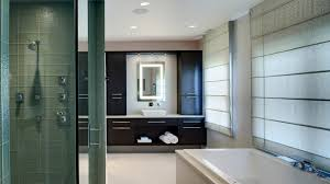 his and hers contemporary master bathroom drury design