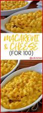 macaroni u0026 cheese for 100 recipe cdkitchen com