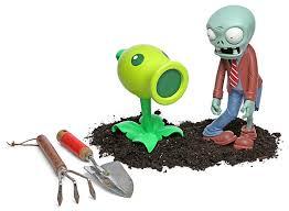 plants vs zombies lawn ornament