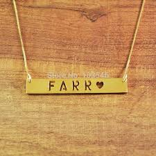 custom necklaces cheap 35 best custom bar necklace images on pendant necklace