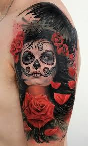 what nice tattoos sugar skull tattoo bravo shivor