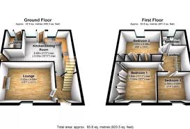 professional 2d and 3d residential floor plan service in london