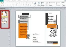 Microsoft Publisher Resume Templates Brochure Publisher Template 28 Images 16 Publisher Flyer