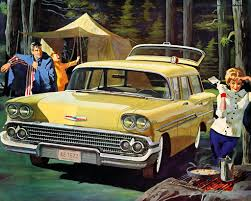 volkswagen squareback inter 1950s camping where beaver cleaver u0027s mom dressed to the nines just