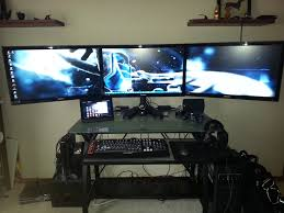 Awesome Pc Gaming Setup Jun 2013 Youtube by Computer Setups Computer Setup For Gaming Computer Setups