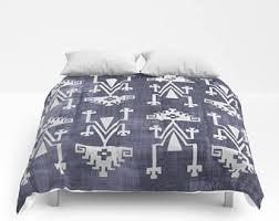 Tribal Pattern Comforter Bohemian Comforter Etsy