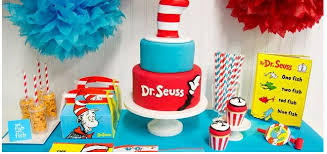 dr seuss party dr seuss cat in the hat birthday party ideas and supplies