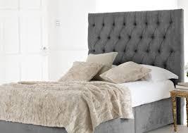 Linen Upholstered King Headboard Stylish Padded Headboards King Size Buy Tufted Linen Upholstered