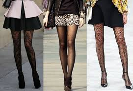 eye pattern tights creative ways to wear patterned tights