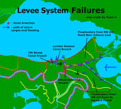 What Are Flood Plains Damage Levee Breaches