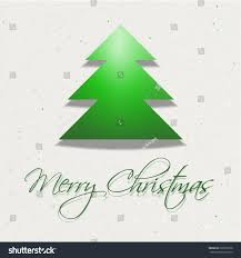merry christmas modern vector modern christmas card tree merry stock vector 226970518