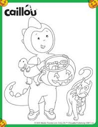grandpa u0026 rosie egg shaped coloring sheet caillou activities