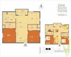 2bhk Plan by Apartments Floor Plans Located On Omr Channi