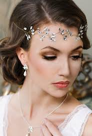 bridal headband bridal headband headpiece tiara wedding hair
