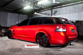 modified street cars 1500hp blown injected ve commodore sportwagon wonago street