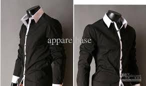 2017 men u0027s slim luxury stylish casual shirts grey light blue pink