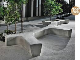 Design Outdoor Furniture by Best 25 Concrete Bench Ideas On Pinterest Concrete Wood Bench