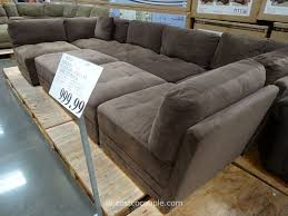 Sectional Sofas At Costco Marks And Cohen Hayden 8 Modular Fabric Sectional Costco