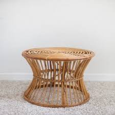 Wicker Accent Table Rattan End Tables Foter