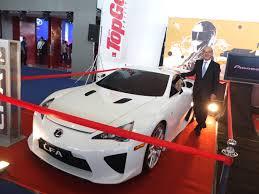 lexus lfa philippines owner mias 2013 breaks 90 nine years of showcasing the automotive