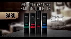 Parfum Axe axe signature eau de toilette baru