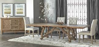 haute extension dining table
