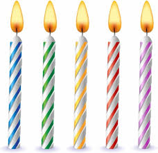 birthday candle birthday candles free vector in adobe illustrator ai ai