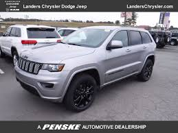 dark gray jeep grand cherokee 2018 new jeep grand cherokee altitude 4x4 at landers serving